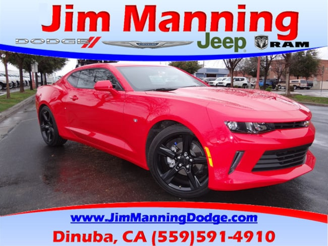 Used 2017 Chevrolet Camaro LT Coupe For Sale Dinuba, CA