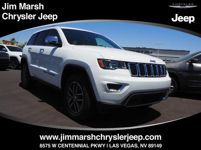 New 2018 Jeep Grand Cherokee Limited 4x4 SUV For Sale/Lease Las Vegas, NV