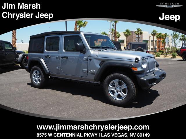 New 2018 Jeep Wrangler Unlimited Sport 4x4 SUV For Sale/Lease Las Vegas, NV