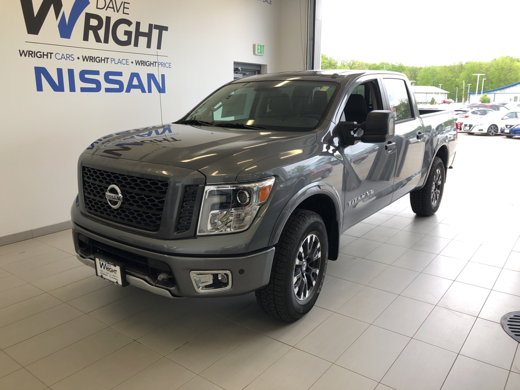 New 2019 Nissan Titan For Sale at Dave Wright Auto | VIN