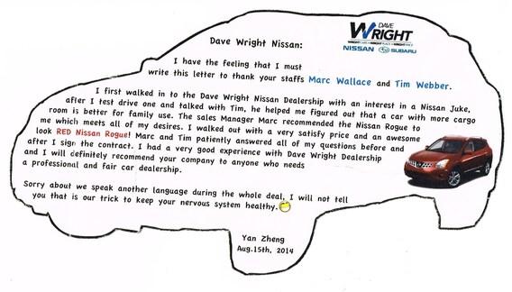Dave Wright Subaru Reviews   Subaru Dealership near Waterloo, IA