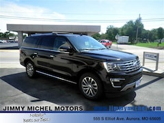 New Ford for sale 2018 Ford Expedition Max Limited SUV 1FMJK2AT7JEA56262 in Aurora, MO