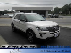 New Ford for sale 2018 Ford Explorer Sport SUV 1FM5K8GTXJGC27408 in Aurora, MO