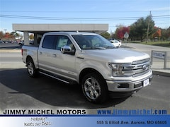 New Ford for sale 2018 Ford F-150 Lariat 4x4 Truck 1FTFW1E19JFD96153 in Aurora, MO