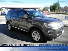 New Ford for sale 2019 Ford Explorer XLT SUV 1FM5K8D82KGA40830 in Aurora, MO