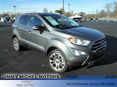 Used Vehicles  2018 Ford EcoSport Titanium SUV MAJ6P1WL8JC189662 for sale in Aurora MO