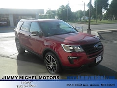 New Ford for sale 2018 Ford Explorer Sport SUV 1FM5K8GT6JGC41306 in Aurora, MO