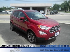 New Ford for sale 2018 Ford EcoSport Titanium SUV in Aurora, MO