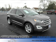 Used Vehicles  2016 Ford Edge Titanium SUV 2FMPK3K86GBB42483 for sale in Aurora MO