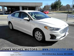 New Ford for sale 2019 Ford Fusion S Sedan 3FA6P0G77KR133615 in Aurora, MO