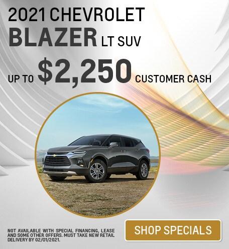 2021 Chevrolet Blazer LT SUV