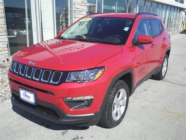 2018 Jeep Compass LATITUDE 4X4 Sport Utility Jim Olson Car Dealership in Door County, WI