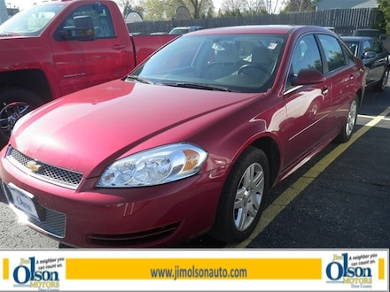 2013 Chevrolet Impala LT Sedan at Jim Olson Car Dealership in Door County, WI