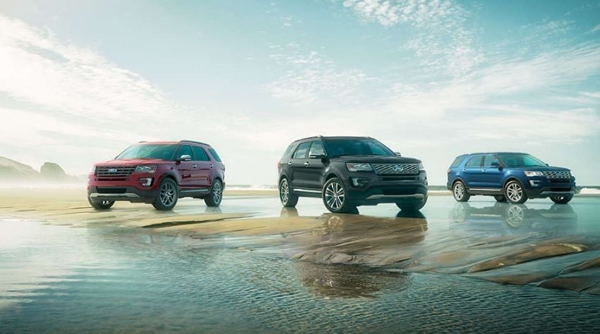 The 2017 Ford Explorer from Ford Dealerships around New Albany, IN