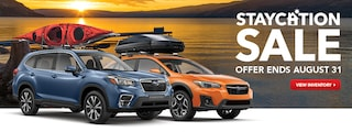 Subaru Staycation Sale