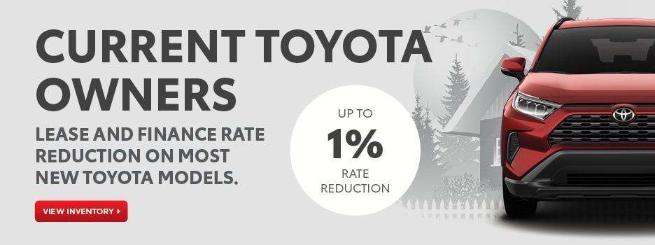 Current Toyota Owner Offer