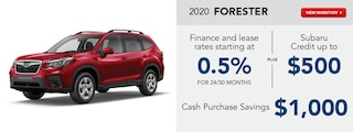 2020 Forester March Specials