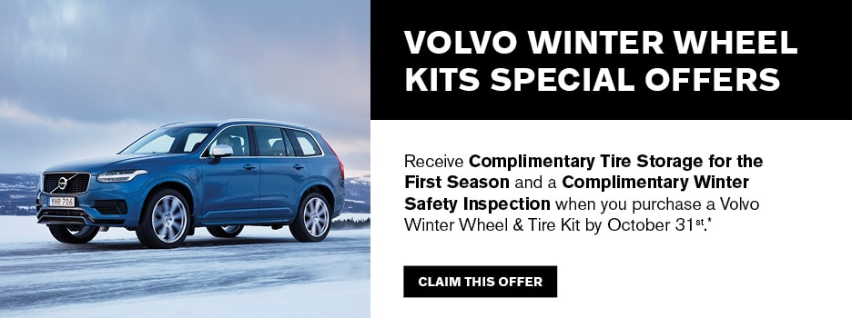 Volvo Winter Wheel Kit Special Offers