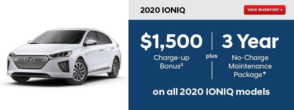 2020 IONIQ EV October Special