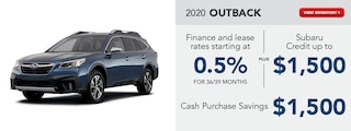2020 Outback October Special