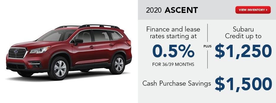 2020 Ascent September Special