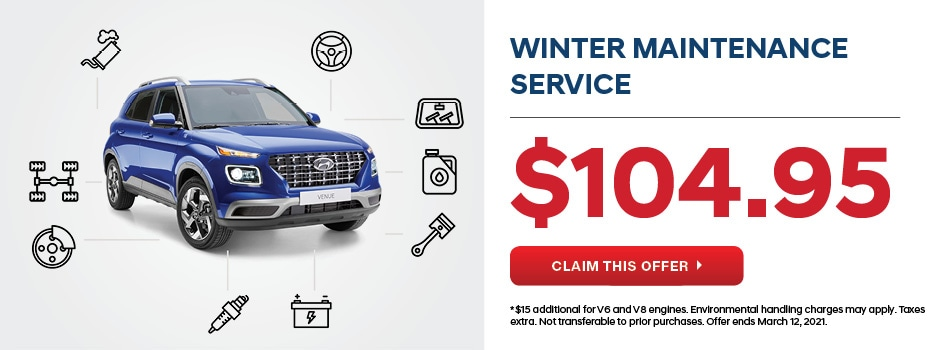 Hyundai Winter Service Maintenance