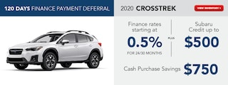 2020 Crosstrek August Offer