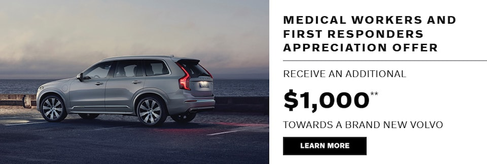 Medical Workers & First Responders Appreciation Offer