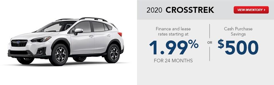 2020 Subaru Crosstrek January Specials
