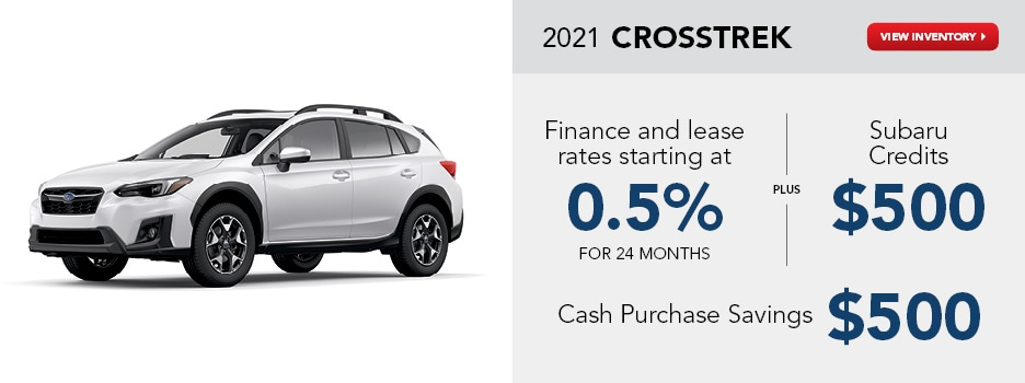 2021 Crosstrek January Offer
