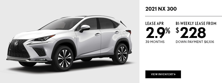 2021 NX 300 September Offer