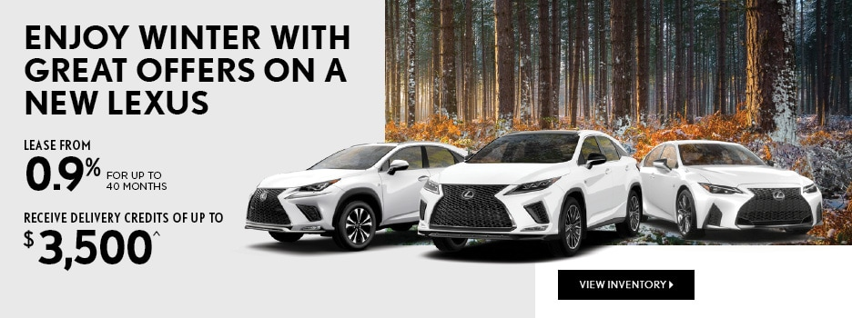 Enjoy Winter With Great Offers on a New Lexus