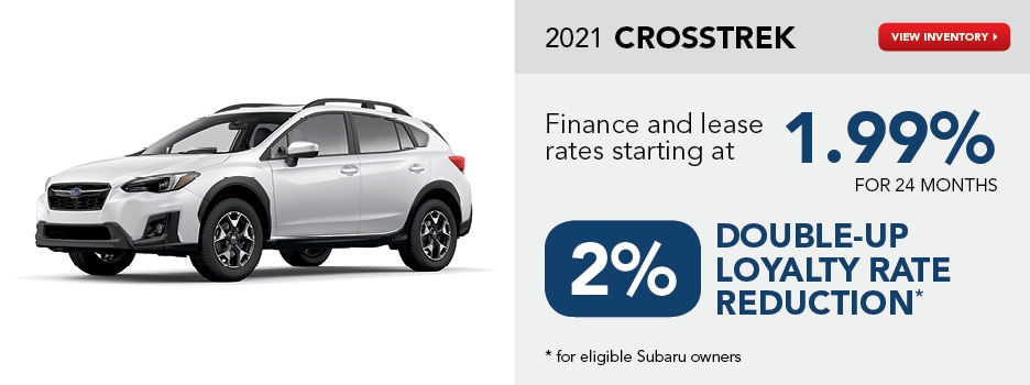 2021 Crosstrek September Special