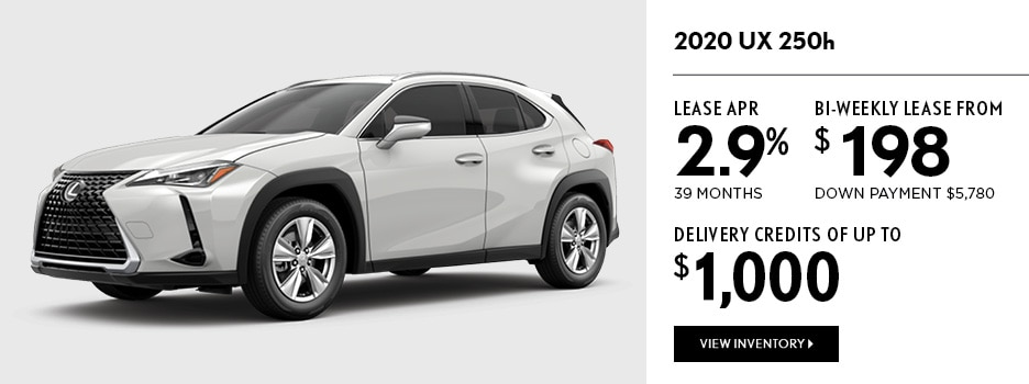 2020 UX 250h September Offer