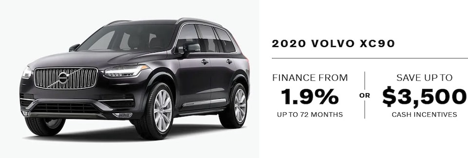 2020 Volvo XC90 September Offer