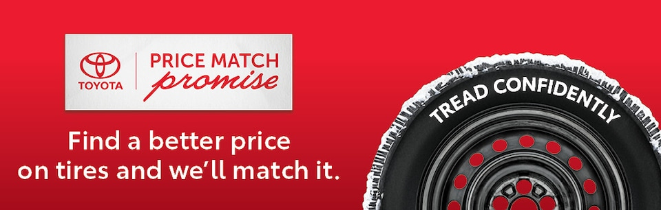Toyota Tire Price Match Promise
