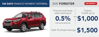 2020 Forester August Offer