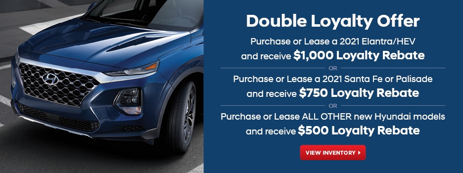 Double Loyalty Offer