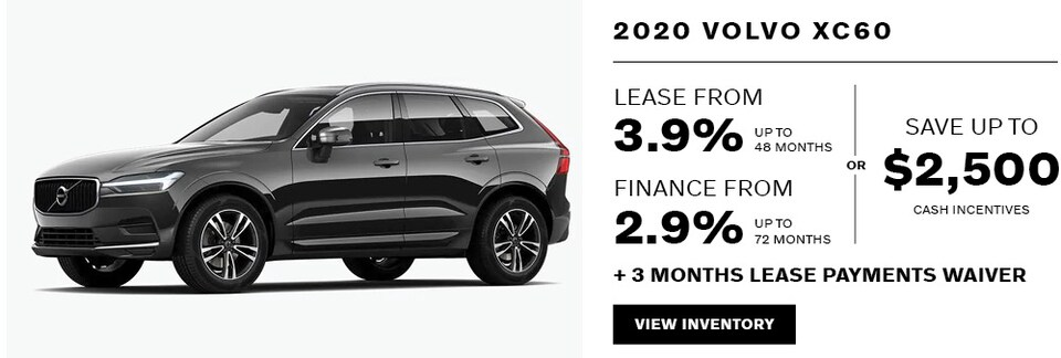 2020 Volvo XC60 April Offer