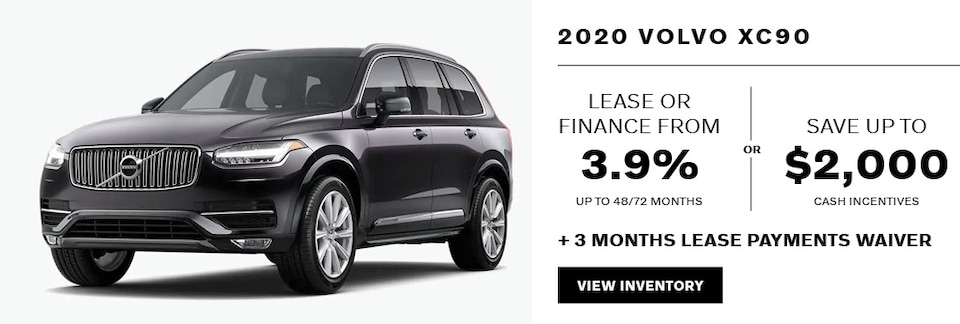 2020 Volvo XC90 April Offer