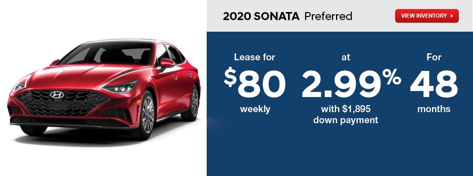 2020 SONATA Preferred April Offer