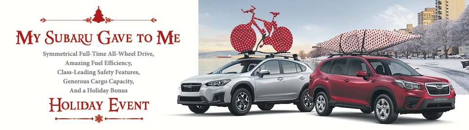 Subaru December Specials