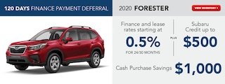 2020 Forester April Offers
