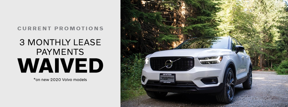 Volvo April New Vehicle Specials