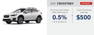 2020 Crosstrek March Specials
