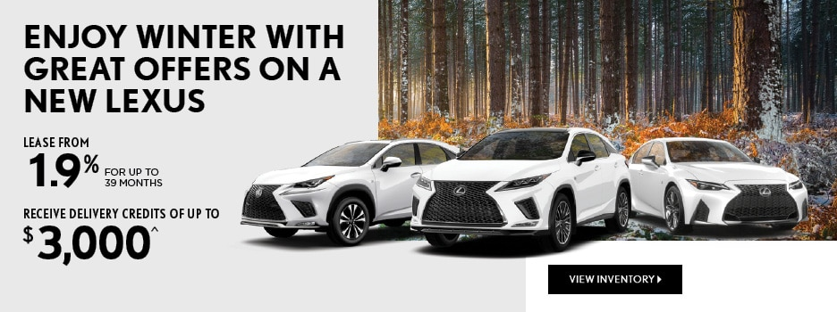 Lexus February Offers
