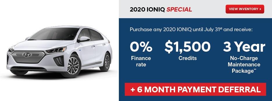 2020 IONIQ July Special