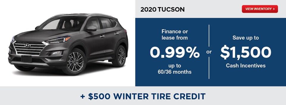2020 Tucson December Specials