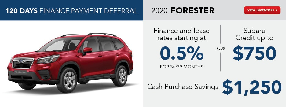 2020 Forester May Specials