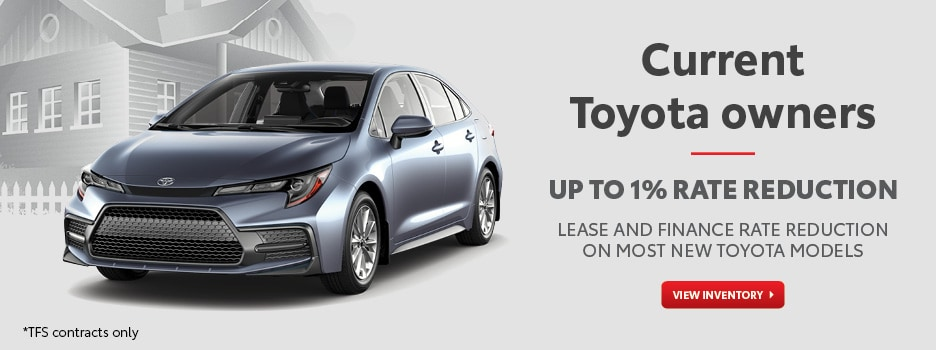 Current Toyota Owner Loyalty Offer